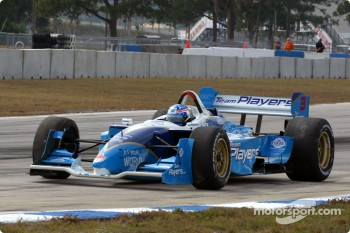 Paul Tracy back on the track