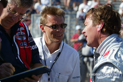 Stefan Johansson and Jimmy Vasser
