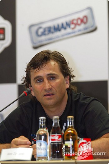 Press conference: Alex Zanardi