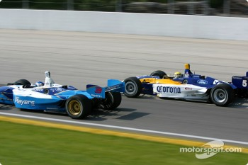 Rodolfo Lavin and Paul Tracy