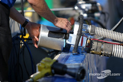 Rocketsports Racing refuel equipment