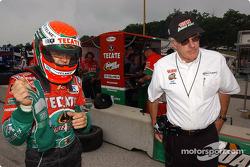 Adrian Fernandez and Tom Anderson