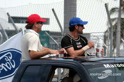 Drivers presentation: Jimmy Vasser and Alex Tagliani