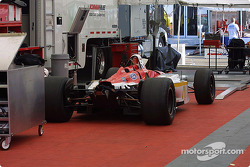 Newman-Haas Racing paddock area