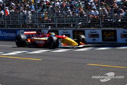 Race winner Sébastien Bourdais