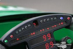 Mario Dominguez' steering wheel