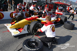Pitstop practice at Newman/Haas Racing