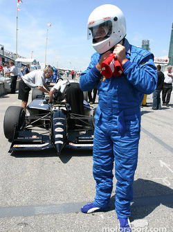 Champ Car 2-seater experience: Bell's Duncan Stauch