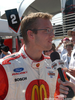 Pole winner Sébastien Bourdais