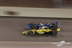 A.J. Allmendinger and Alex Tagliani fight for position