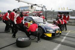 Pistopp Miguel Molina, Audi Sport Team Abt Junior, Audi A4 DTM