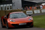 Jenson Button in the Mclaren MP4-12c