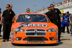 Car of Robby Gordon, Robby Gordon Motorsport Dodge at technical inspection