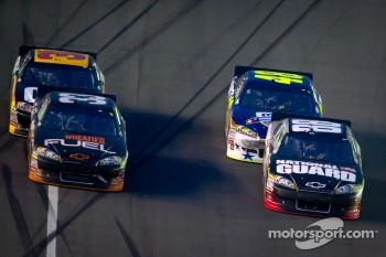 Dale Earnhardt Jr., Hendrick Motorsports Chevrolet, Jimmie Johnson, Hendrick Motorsports Chevrolet, Clint Bowyer, Richard Childress Racing Chevrolet, Jeff Burton, Richard Childress Racing Chevrolet