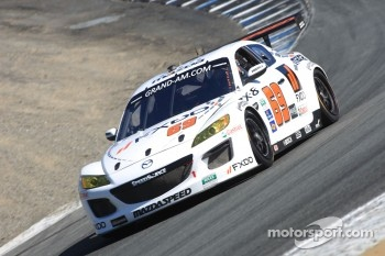 #69 Emil Assentato, Jeff Segal FXDD Mazda RX-8, SpeedSource