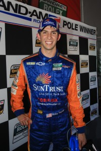 Pole winner Ricky Taylor