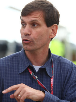 Tavo Hellmund, promoter of the United States Grand Prix