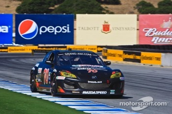 #70 Jonathan Bomarito, Sylvain Tremblay: Mazdaspeed Castrol Edge Mazda RX-8, SpeedSource