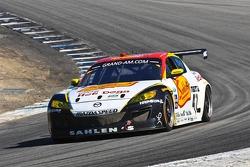 #42 John Edwards, Wayne Nonnamaker: Theracesite.com Mazda RX-8, Team Sahlen