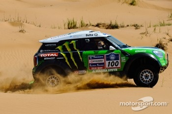Stéphane Peterhansel and Jean-Paul Cottret, Monster Energy X-Raid Team