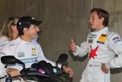 Bruno Spengler, Team HWA AMG Mercedes C-Klasse, Renger van der Zande, Persson Motorsport, Mercedes C-Klasse