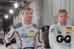 David Coulthard, Mücke Motorsport, AMG Mercedes C-Klasse, Maro Engel, Mücke Motorsport, AMG Mercedes C-Klasse