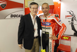 Valentino Rossi, Ducati Team with a Bridgestone VIP
