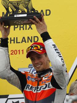 Podium: third place Casey Stoner, Repsol Honda Team