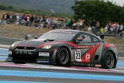 #23 JR Motorsport Nissan GT-R: Michael Krumm, Lucas Luhr