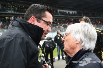 Teams and FOTA have no say in 2012 calendar, says Ecclestone