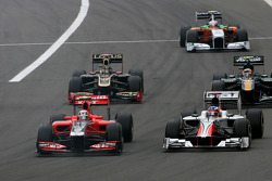 Jerome d'Ambrosio, Virgin Racing and Daniel Ricciardo Hispania Racing Team, HRT