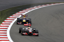 Lewis Hamilton, McLaren Mercedes, Mark Webber, Red Bull Racing