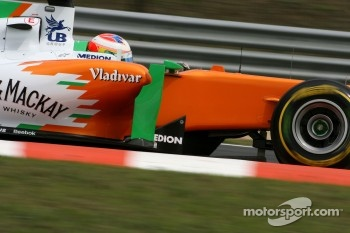 Another solid performance by Force India, Sutil was 8th and Paul di Resta 11th