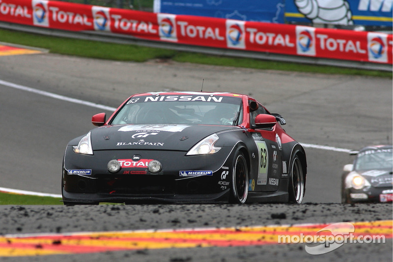 #63 RJN Motorsport Silver Nissan 370Z: Alex Buncombe, Jordan Tresson, Christopher Ward