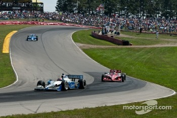 James Hinchcliffe, Newman/Haas Racing, Scott Dixon, Target Chip Ganassi Racing