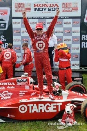 Mid-Ohio 2011 Winner was Scott Dixon