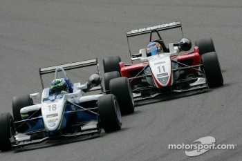 Roberto Merhi, Prema Powerteam, Dallara F308 Mercedes, Jimmy Eriksson, Motopark, Dallara F308 Volkswagen