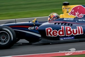 Jean-Eric Vergne in WSR event at Silverstone