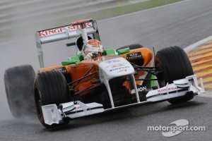Adrian Sutil impressed with sixth position