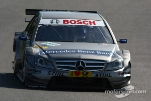 Bruno Spengler and Mercedes are certainly nor giving up