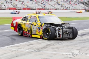 Clint Bowyer, Richard Childress Racing Chevrolet crashes