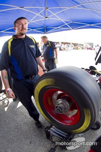 Goodyear balances tires