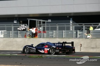 #7 Peugeot Sport Total Peugeot 908: Sébastien Bourdais, Simon Pagenaud takes the checkered flag