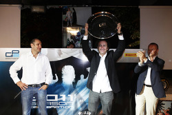 Alejandro Agag, Addax collects the GP2 team champions trophy