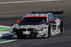 The new BMW M3 DTM on track
