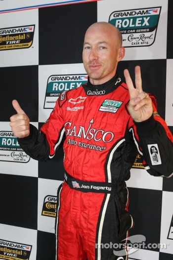 DP pole winner Jon Fogarty