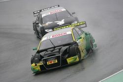 Martin Tomczyk, Audi Sport Team Phoenix Audi A4 DTM and Edoardo Mortara, Audi Sport Team Rosberg, Audi A4 DTM