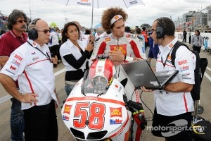 Marco Simoncelli, San Carlo Honda Gresini