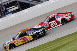 Jeff Burton, Richard Childress Racing Chevrolet and Kevin Harvick, Richard Childress Racing Chevrolet