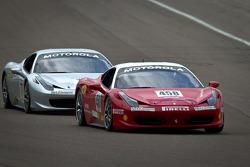 #458 Ferrari of San Francisco Ferrari 458 Challenge: Paddins Dowling, #777 Ferrari of Québec Ferrari 458 Challenge: Emmanuel Anassis